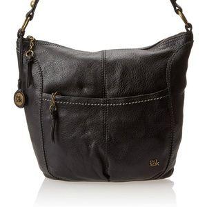 The Sak Black Leather NEW Iris Large Hobo bag